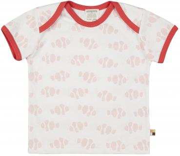 Loud & Proud T-Shirt Druck Rosa mit Fischen