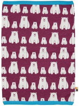 Loud & Proud Schlauchschal Plum mit Eisbären