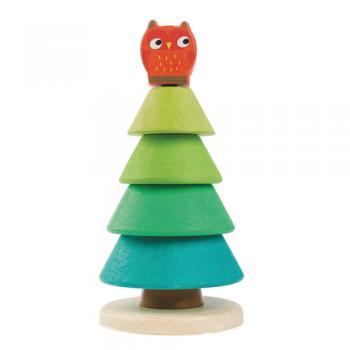 Stapelspiel Tannenbaum von Tender Leaf Toys