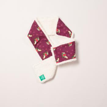 Schal mit Baumwollfleece von Little Green Radicals - Nordisches Pferd